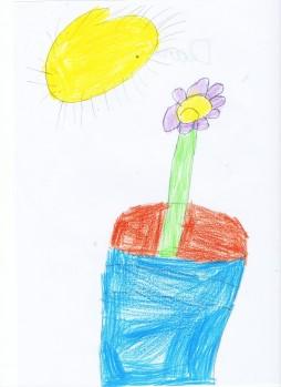 Historias de sol y luna, Darío. 6 años