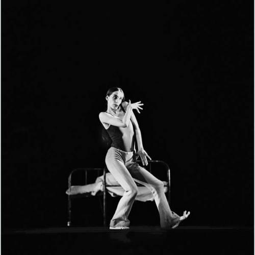 Pina Baush en su etapa de bailarina en la década de los 70.