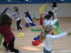 Bailarinas en Colegio Público de Humanes