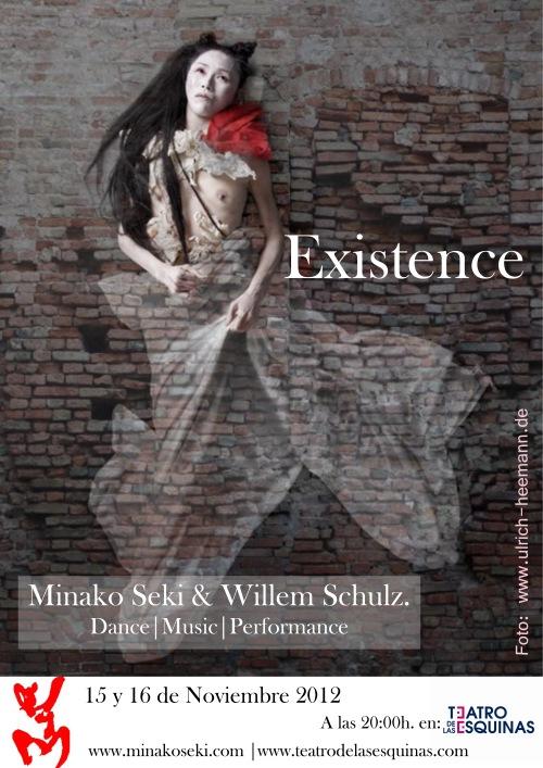 Existence. Teatro de las esquinas. 15 y 16 de Noviembre 2012.