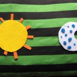 El sol y la luna...