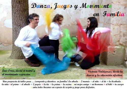 Danza, Juegos y Movimiento en familia.
