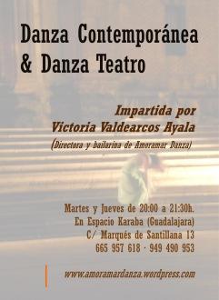 Clases de Danza Contemporánea 2013/14 (Espacio Karaba, Guadalajara)