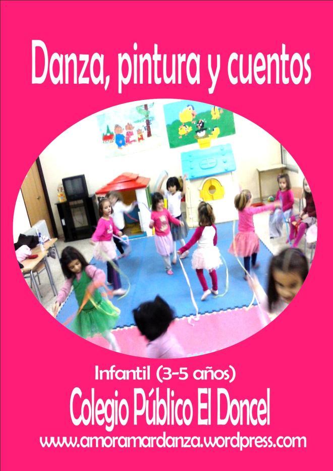Danza, pintura y cuentos. Infantil El Doncel