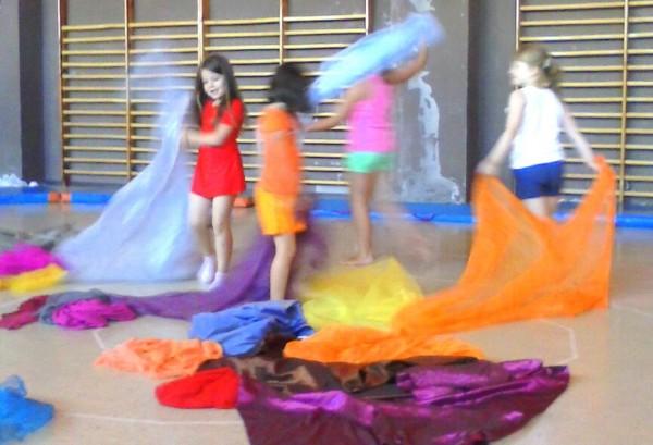 Danza Creativa en Colonias Artísticas Ocejón / Verano 2013