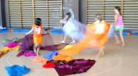 Danza creativa en Colonias artísticas en CP El Ocejón (Guadalajara) / Verano 2013