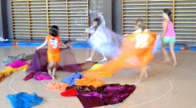 Danza creativa en colonias artística CP Ocejón (Guadalajara) / Verano 2013