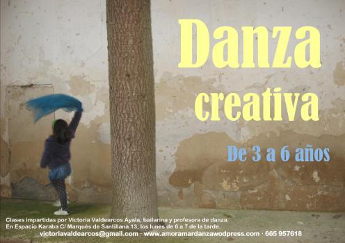 Danza creativa en Espacio Karaba (Guadalajara)
