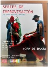 SERIES DE IMPROVISACIÓN + JAM DE DANZA