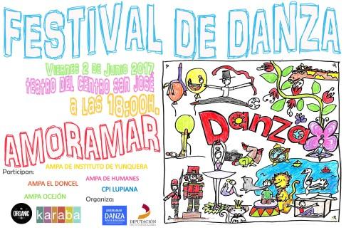 Festival de Fin de Curso 2017 AMoramar danza