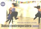 Danza Contemporánea Junior en Guadalajara. Curso 2017/18