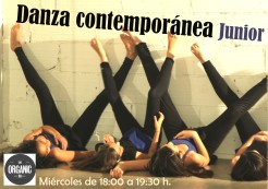 Danza Contemporánea para niñ@s en Guadalajara. Curso 2017/18