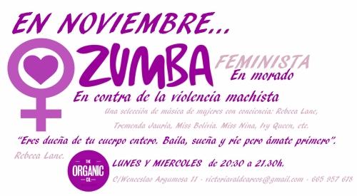 Zumba noviembre feminista