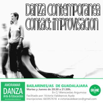 DANZA CONTEMPORÁNEA ADULTOS ORGANIC
