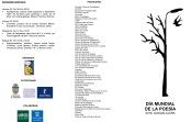 programa Día de la Poesía 2018-2
