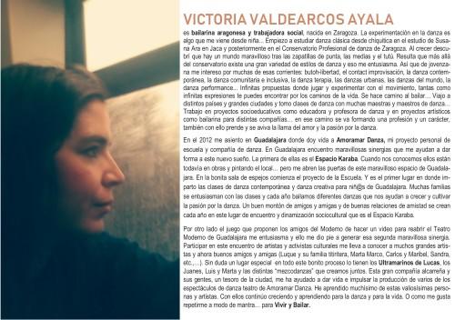 Victoria Valdearcos Ayala BIO BIO