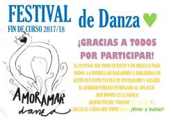 GRACIAS POR PARTICIPAR EN EL FESTIVAL DEL FIN DE CURSO 2018
