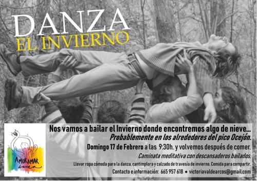 DANZA EL INVIERNO CARTEL FEBRERO 2019