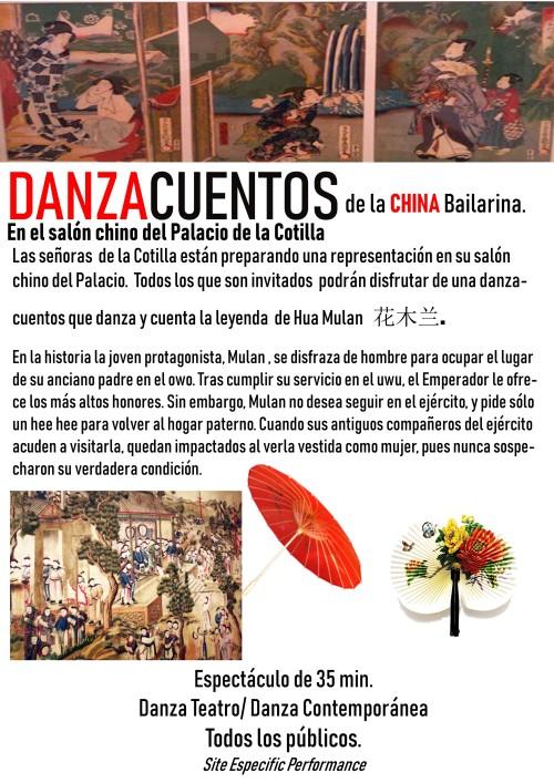DANZACUENTOS DE LA CHINA BAILARINA