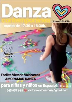 DANZA CONTEMPORANEA NIÑAS KARABA 2019-20